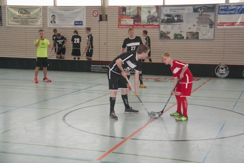 4. Integratives Floorballturnier 2016